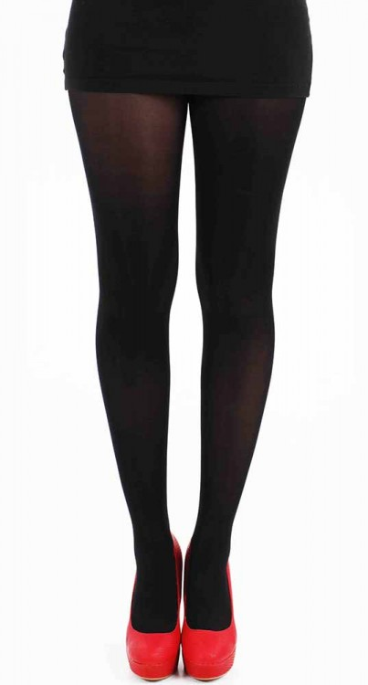 70 Denier Microfibre Tights (Black)