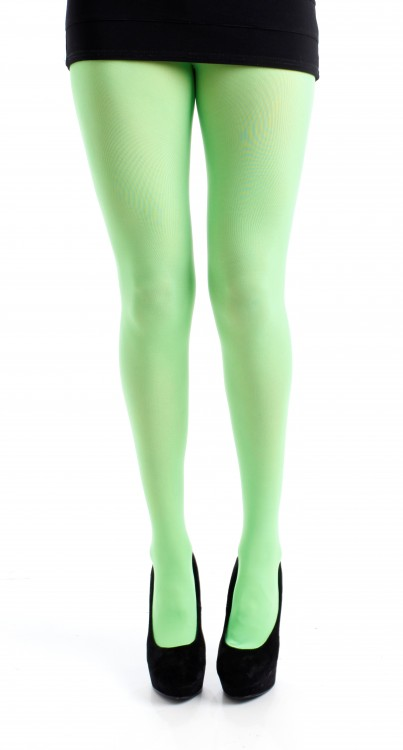 50 Denier Opaque Tights (Flo Green)