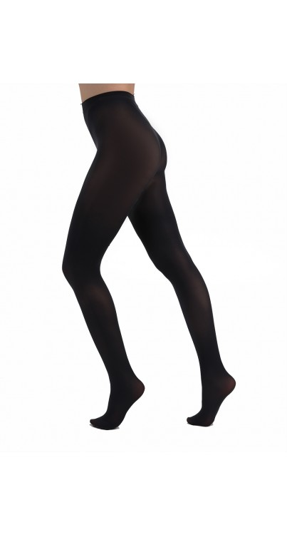50 Denier Opaque Tights (Charcoal)