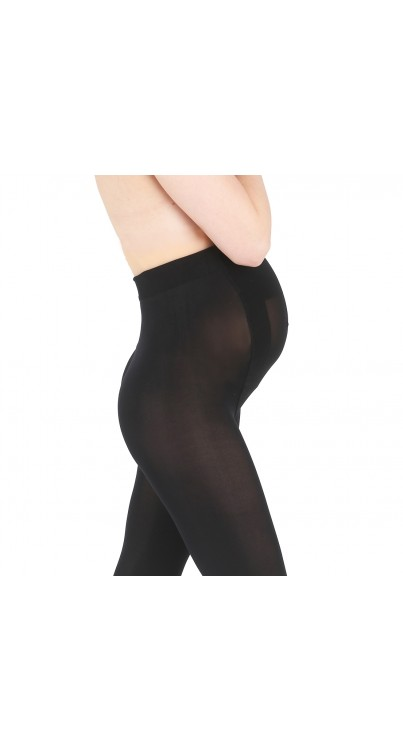 90 Denier Ultimate Maternity Support Tights (Black)