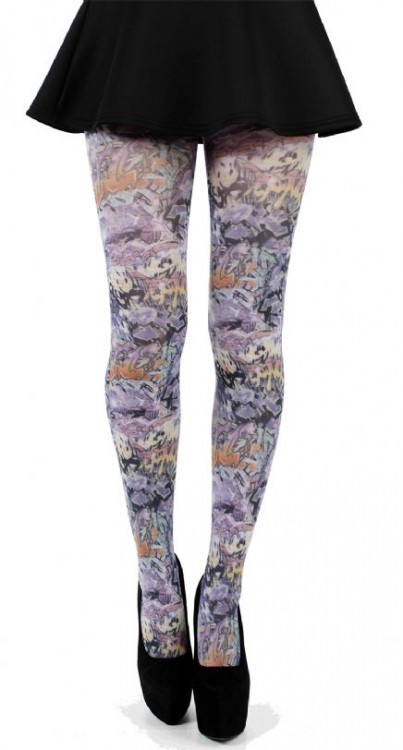 Artist Printed Tights