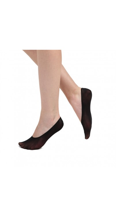 Invisible Footlet Socks (Black)