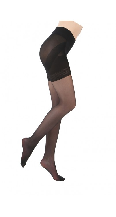 20 Denier Breeze Push Up Tights Black