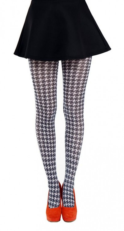 Dogtooth Small Printed Tights
