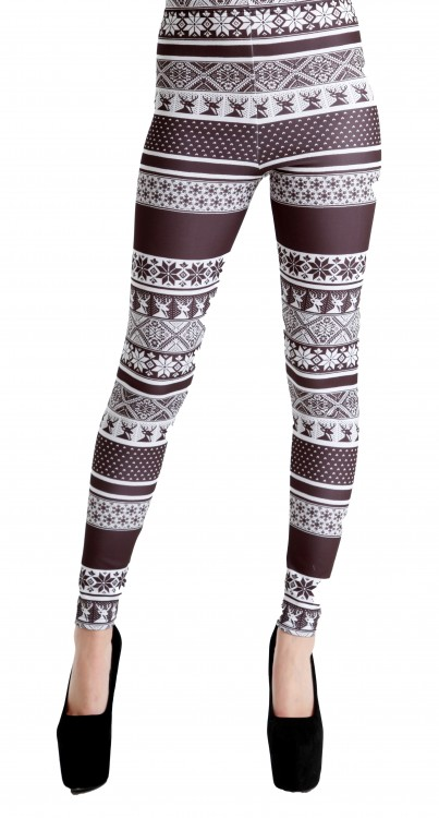 Fairisle Leggings