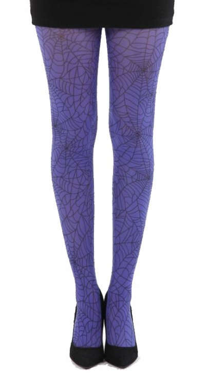 Webber A Printed Tights (Flo Purple)
