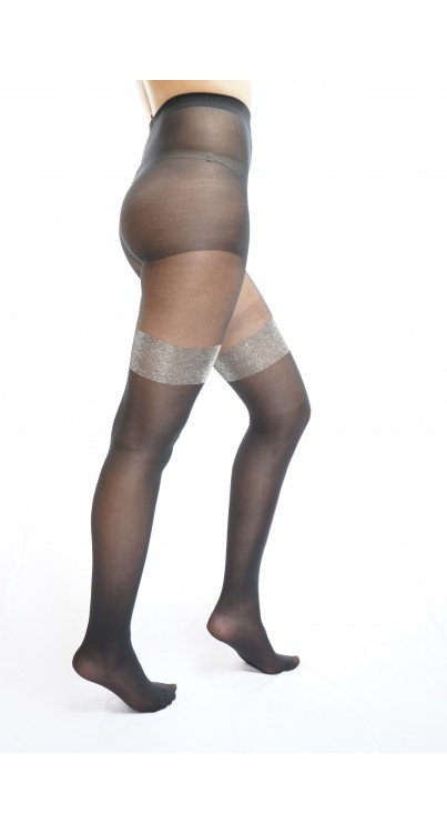 Glitter Over The Knee Tights