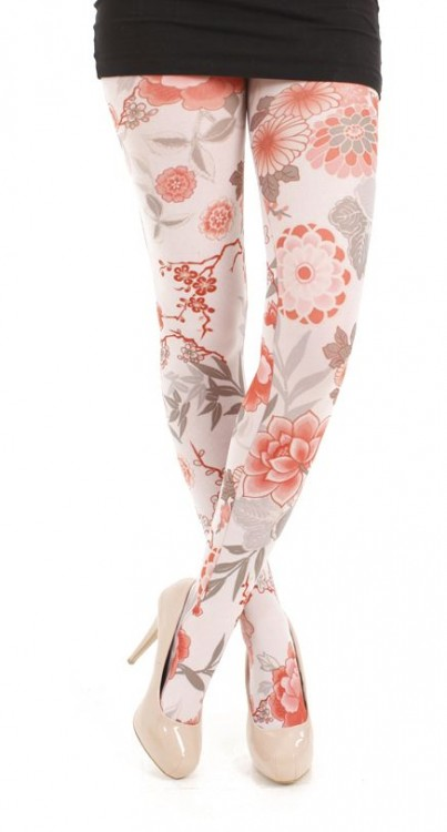 Japan Printed Tights- CLEARANCE