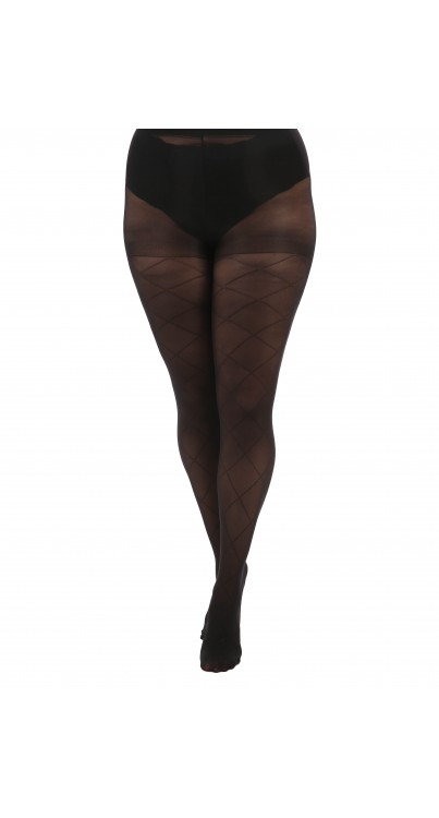 Large Diamond Tights (Black)