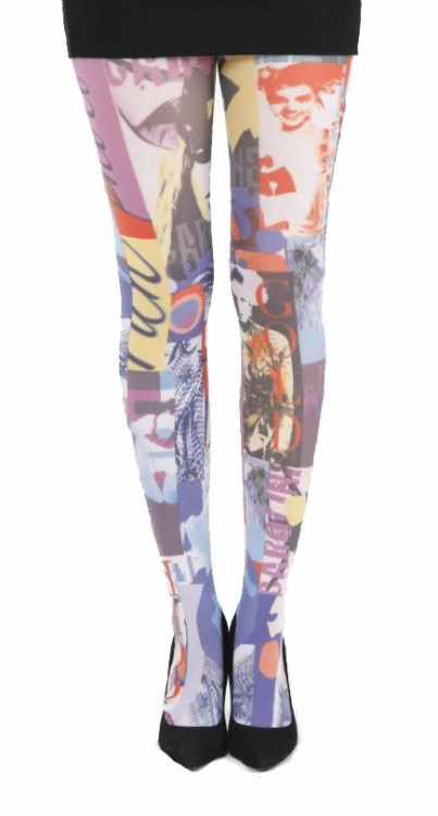 Lifestyle Printed Tights