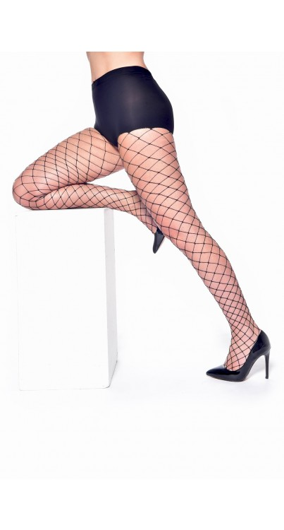 Metallic Fishnet