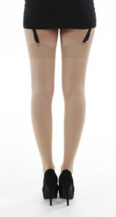 Jive Seamed Stockings (Nude)