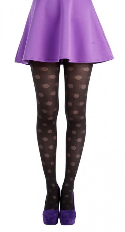 Palloni Opaque Tights (Black)