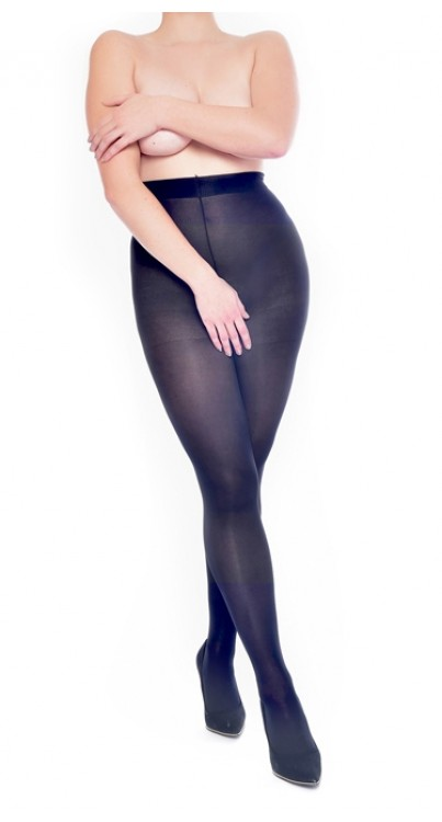 50 Denier Crotchless Tights