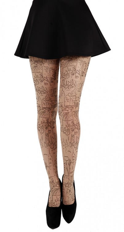 Skyscrape Tattoo Tights