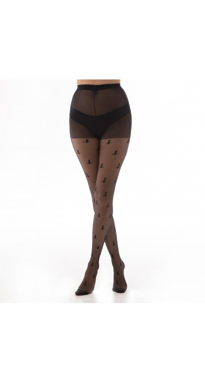 St Peter's Cross Tights (Black)