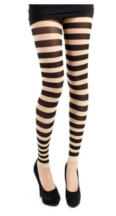 Twickers Footless Tights (Natural)