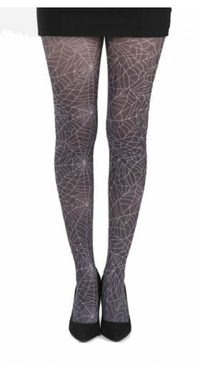 Webber B Printed Tights (Black)