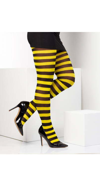 Twickers Tights Flo Yellow