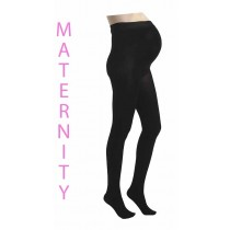 Maternity 120 Denier Tights (Black)