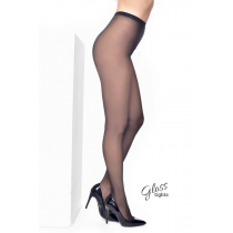 15 Denier Luxury Gloss Tights (Black)