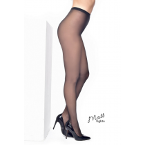 15 Denier Luxury Matt Tights (Black)