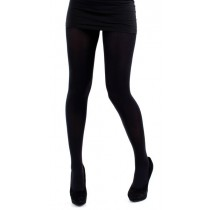 300 Denier Brushed Tights (Black)