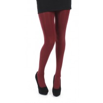 50 Denier Opaque Tights (Burgundy)