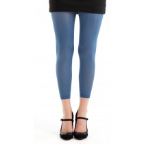 50 Denier Footless Tights (Denim)