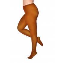 50 Denier Curvy Super Stretch Tights Cognac