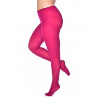 50 Denier Curvy Super Stretch Tights Cerise