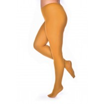 50 Denier Curvy Super-stretch Tights (Mustard)
