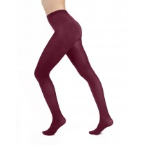 50 Denier Opaque Tights (Damson)