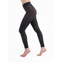 50 Denier Footless Tights (Charcoal)