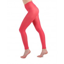 50 Denier Footless Tights (Coral)