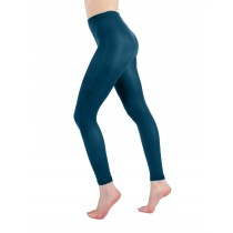 50 Denier Footless Tights (Dark Teal)