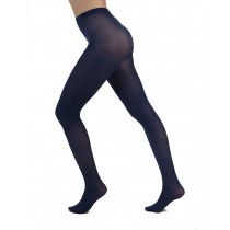 50 Denier Opaque Tights (Midnight Blue)