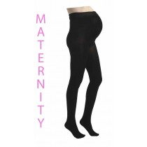 Maternity 80 Denier Tights (Black)