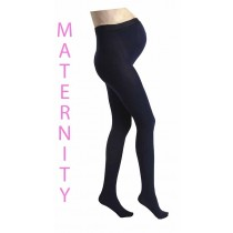 Maternity 80 Denier Tights (Navy)
