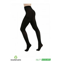 80 Denier Recycled Yarn Tights (Black)