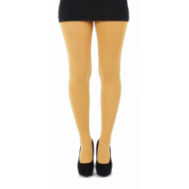 80 Denier Opaque Tights (Mustard)