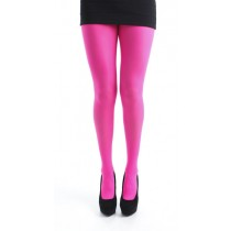 50 Denier Opaque Tights (Flo Pink)