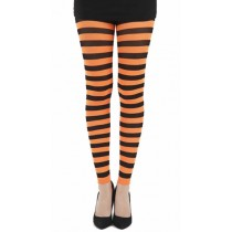 Twickers Footless Tights (Flo Orange)