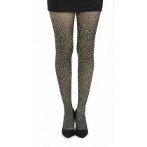 Webber B Printed Tights (Flo Green)
