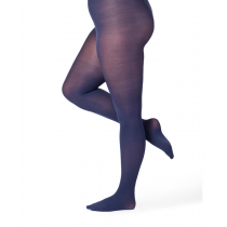 50 Denier Curvy Super Stretch Tights Midnight Blue