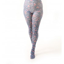 Candy Cane Printed Tights
