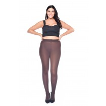 50 Denier Curvy Super Stretch Tights Chocolate