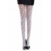 Embassy Printed Tights Black/White