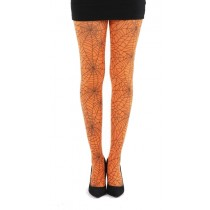 Webber A Printed Tights (Flo Orange)