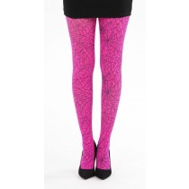 Webber A Printed Tights (Flo Pink)